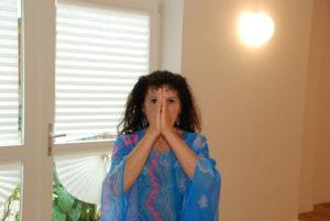 Geneviève Duverger, professeur de yoga et yoga thérapie